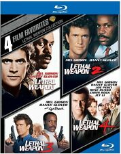 Lethal Weapon Collection: 4 Film Favorit (2014, REGION A Blu-ray New) BLU-RAY/WS
