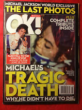 MICHAEL JACKSON FARRAH FAWCETT- OK -  SPECIAL TRIBUTE COMMEMORATIVE MAGAZINE