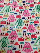 Michael Miller Nothing To Wear material fabric summer fat quarters CX6290 girl