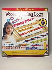 Wooden Beading Loom Design & Create Kit Dexterity Motor Skills  Ages 8+ NEW
