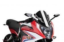 PUIG RACING SCREEN (BLACK) Fits: Honda CBR650F,CBR650FA 7003N 561-1125BK
