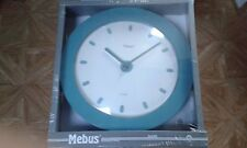 Horloge murale bleu