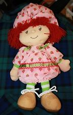 Strawberry Shortcake Plush Stuffed Doll 2005 Girl TV Show Cartoon free shipping