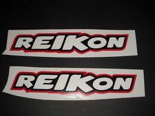 Reikon Pegatina Sticker decal racing patrocinador decal bapperl pegamento logo s7