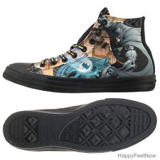 CONVERSE CHUCK TAYLOR HI ALL STAR DC COMICS BATMAN MEN'S SHOES SIZE 9.5 150505C