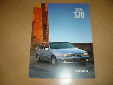 CATALOGUE Volvo S70 de 1999