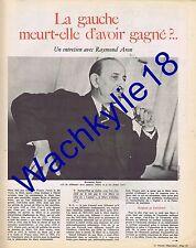 Le nouvel observateur n°120 du 01/03/1967 Raymond Aron Éléction Renault 16