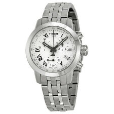 Tissot PRC 200 Chronograph White Dial Ladies Watch T055.217.11.033.00