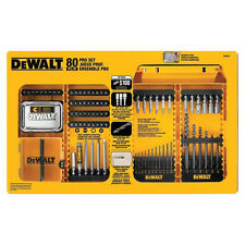 DEWALT 80pc Professional Drill Bit Set DW2587 New