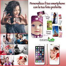 COVER CASE RIGIDA CON FOTO PERSONALIZZATA PER Samsung GALAXY S6 Edge Plus