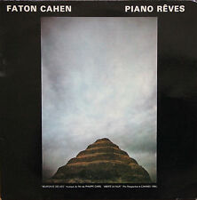 "Vinyle 33T Faton Cahen (Magma) ""Piano rêves"""