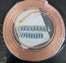 """Tuyau de frein Kit de réparation 1/4 """"copper+hand tenue flare tool+bender+cutter +7 / 16"""" nuts"""