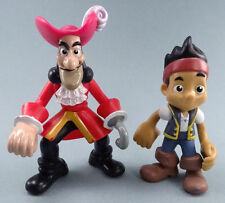 Disney's Jake and the Neverland Pirates figure lot of 2 Captain Hook & Jake