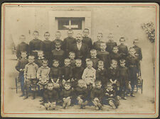 45 STE-GENEVIEVE-DES-BOIS ? THOU ? PHOTO CLASSE DE MONSIEUR HENRY INSTITUTEUR