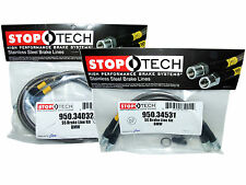 Stoptech Stainless Steel Braided Brake Lines (Front & Rear Set / 34032+34531)