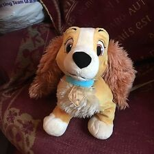 LADY from Lady and the Tramp Plush / Soft Toy DISNEY STORE EXCLUSIVE