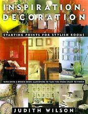 Book Inspiration, Decoration :Starting Points for Stylish Rooms by Judith Wilson