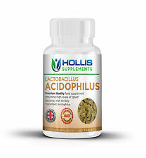 Probiotic 10 Billion FCU 120 Tablets Health Supplement Acidophilus IBS
