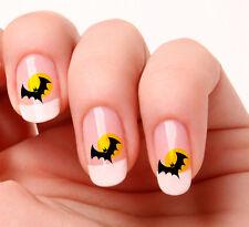20 Nail Art Stickers Transfers Decals #411 - Bat Halloween Just peel & stick