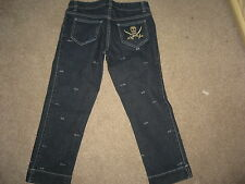 GENUINE STELLA Mc CARTNEY WOMENS CAPRI/CROPPED JEANS,SZ 40,UK 8,EXC.C,180£