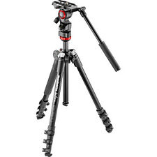Manfrotto Befree Live Video Tripod Kit With Case Video Fluid Head