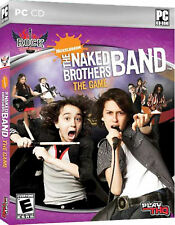 NEW The Naked Brothers Band The Video Game computer multiplayer music alex david
