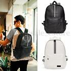 Travel Rucksack Camping Leather Men School Laptop Satchel Shoulder Bag Backpack