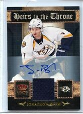 2011/12 PANINI CROWN ROYALE JONATHON BLUM AUTO GAME WORN 032/100