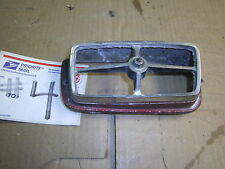 1969 1970 Mercury COUGAR FORD MUSTANG FRONT RIGHT TURN SIGNAL PARK LIGHT BEZEL !