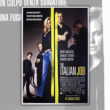 Original Poster The Italian Job - 100x140 CM - Charlize Theron ,Mark Wahlberg