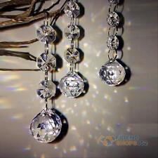 10pcs Acrylic Crystal Diamond Wedding Party Decor Garland Chandelier Hang Beads