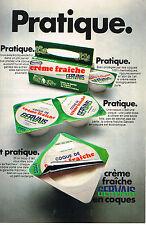 PUBLICITE   1969   GERVAIS   creme fraiche