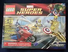 Lego Marvel Super Heroes Captain America's Avenging Cycle #6865 new in box