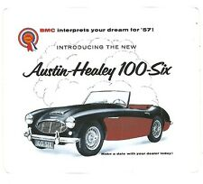 AUSTIN HEALEY 100-Six  CAR Sticker Decal