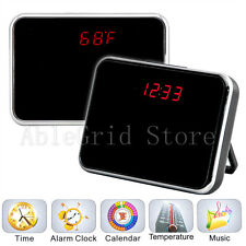 5MP Mini HD Cam Alarm Clock Video Camera DVR DV Digital Recorder Motion Remote