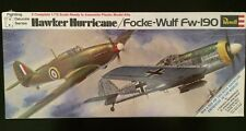 Revell Hawker Hurricane / Focke-Wulf Fw-190 - 2 Complete Kits (SEALED IN BOX)