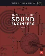 Handbook For Sound Engineers  BOOK NEW