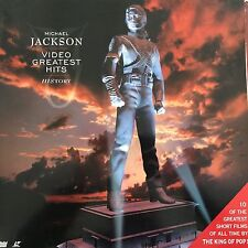 LASERDISC - MICHAEL JACKSON - VIDEO GREATEST HITS - HISTORY VOL 1