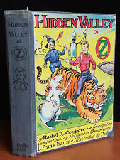 HIDDEN VALLEY OF OZ by Rachel Cosgrove, Baum, 1st / 1st, 1951 SIGNED