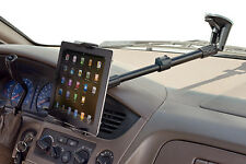 "Extending 14""-18"" Car Windshield Mount Holder for Samsung Galaxy Tab 2 7 7.7 8"