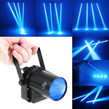3W LED Beam Spotlight Dance Party DJ Bar Spin Blue Stage Light Pinspot Lights