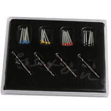 1 Box Dental Fiber Set 20 Pcs Fiber Post & 4 Drills Dentist Product Kit