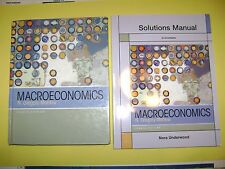 Macroeconomics Student Edition & Solutions Manual 8E by Mankiw