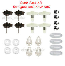 Syma X8C X8W X8G Drone Spare Parts Crash Pack Kit Motor Gear Shafts frame Cover