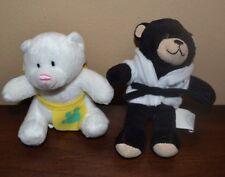 2 McDonald's Happy Meal 2006 Build A Bear CUDDLY TEDDY & DIMPLES TEDDY