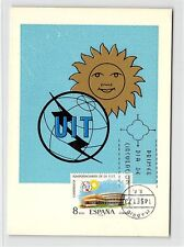SPAIN MK 1973 UIT MAXIMUMKARTE CARTE MAXIMUM CARD MC CM d9454