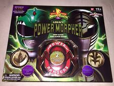 2013 SDCC BANDAI POWER RANGERS LEGACY MORPHER 24k Mighty Morphin 2 Coins RARE!