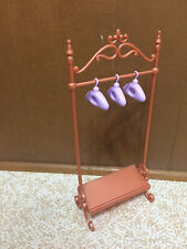 Barbie Doll My Scene Accessory Clothes Rack Hanger Boutique Shop Store Furniture