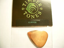 Timber Tones Metal Tones Mini Pick Metallo Plettro Rame