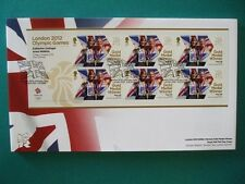2012 LONDON 2012 OLYMPICS GOLD MEDAL WINNER FDC : KATHERINE GRAINGER & A WATKINS